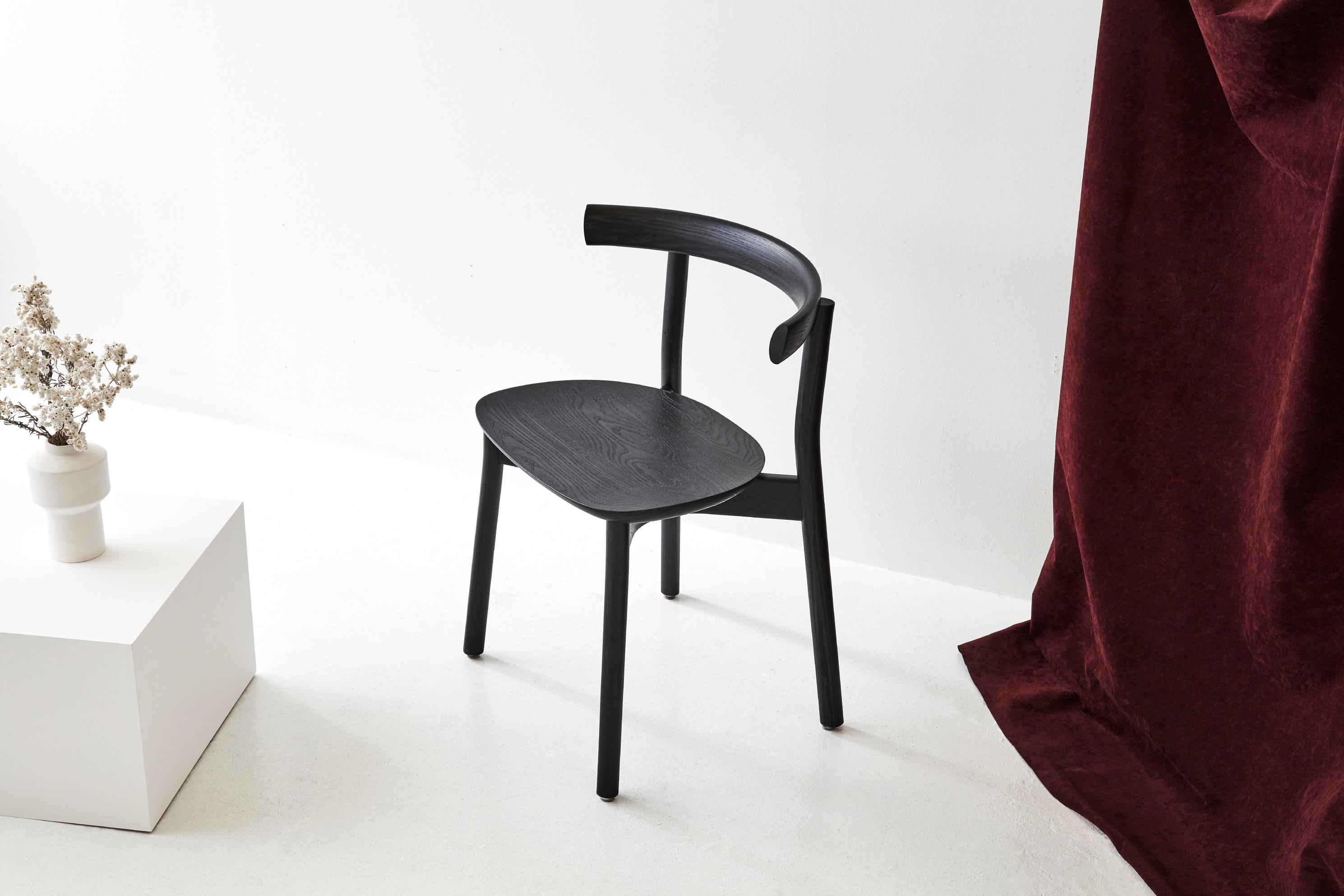 Dessien Furniture Torii Chair by Chris Nicholson timber wood Australian design